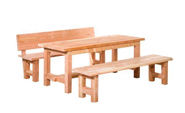 Douglas tafel massief