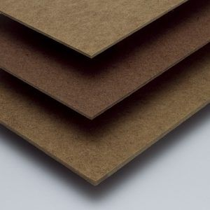 Hardboard Plaatmateriaal