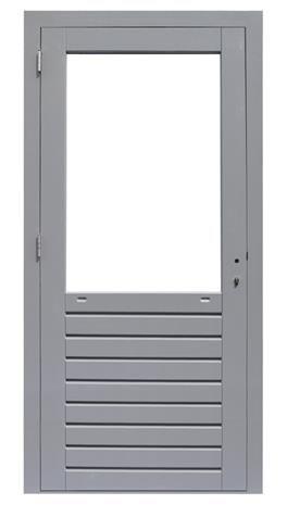 hardhouten kozijn-enkele-glasdeur-prestige