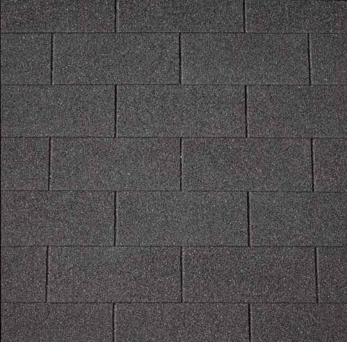 Dakshingles zwart dakbedekking