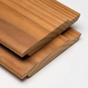Modiwood Gemodificeerd hout rabat Prins Houthandel Purmerend
